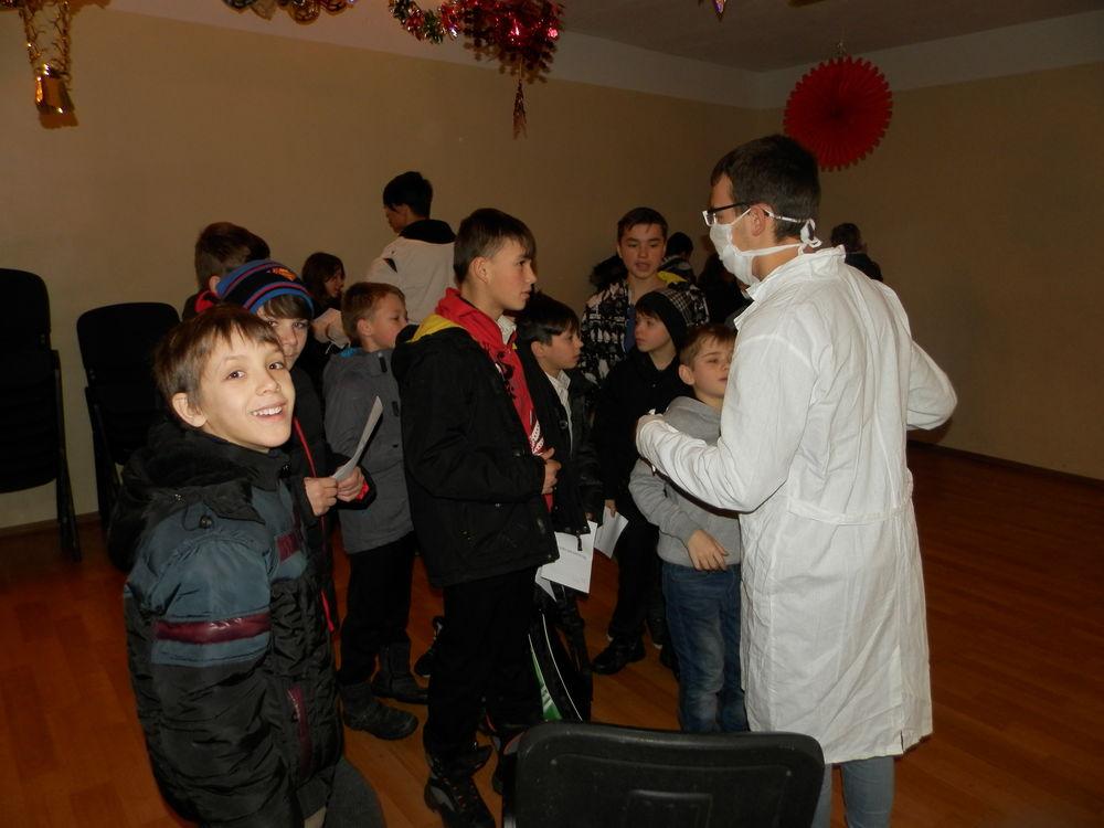 winter evangelism camp in orphanages odessa ukraine