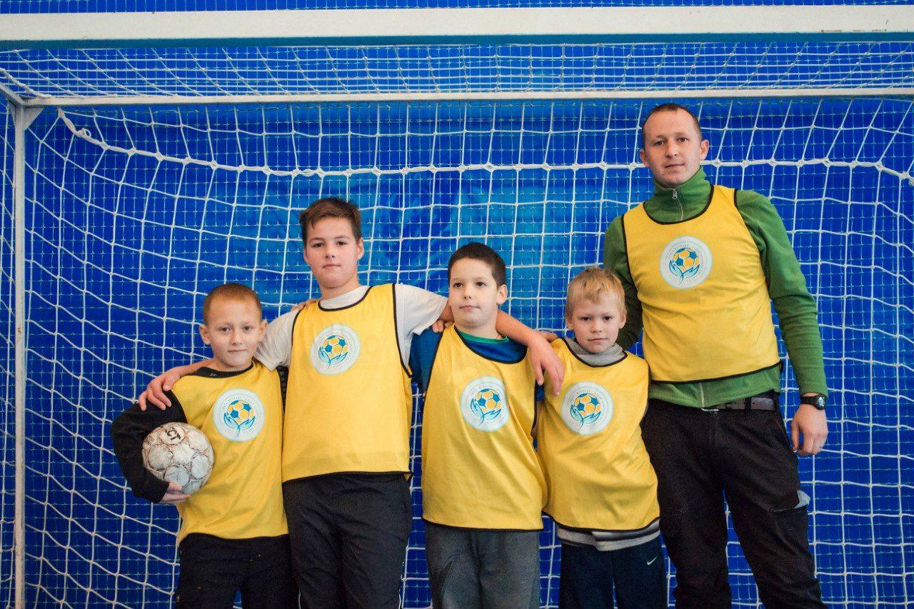 soccer fun day for refugee children in odessa ukraine