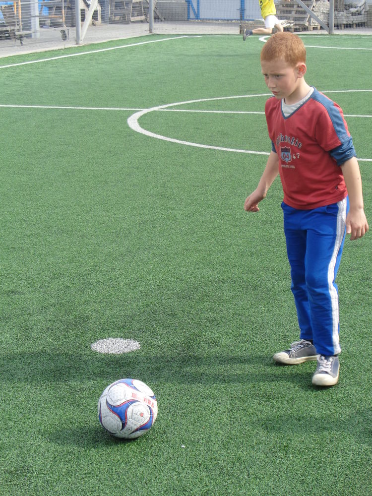 soccer with refugee boys odessa ukraine