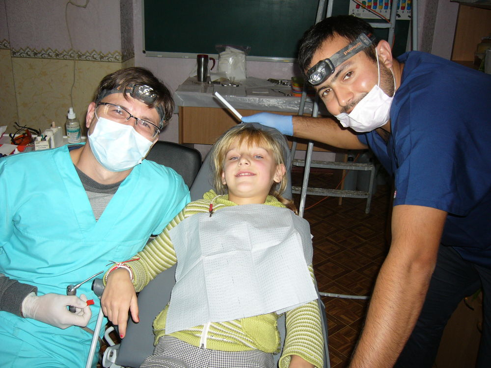 orphanage dental outreach om odessa with the heritage foundations