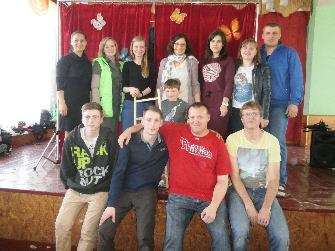 puppet outreach team vinnitsa oblast ukraine