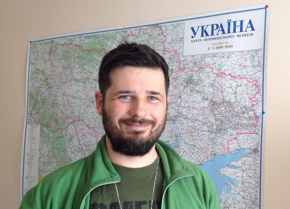 nikolay niuniaev minister to orphans in odessa, ukraine.
